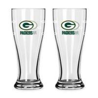 NFL Green Bay Packers Mini Pilsner Glass (Set of 2)