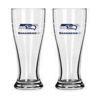 NFL Seattle Seahawks Mini Pilsner Glass (Set of 2)