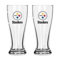 NFL Pittsburgh Steelers Mini Pilsner Glass (Set of 2)
