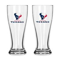 NFL Houston Texans Mini Pilsner Glass (Set of 2)