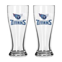 NFL Tennessee Titans Mini Pilsner Glass (Set of 2)