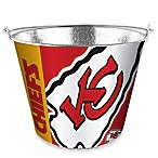 NFL Kansas City Chiefs Metal Ice Bucket