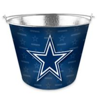 NFL Dallas Cowboys Metal Ice Bucket