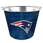 NFL New England Patriots Metal Ice Bucket