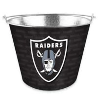NFL Oakland Raiders Metal Ice Bucket