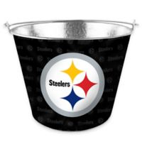 NFL Pittsburgh Steelers Metal Ice Bucket