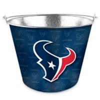 NFL Houston Texans Metal Ice Bucket