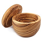Swissmar Napoli Olive Wood Salt Keeper