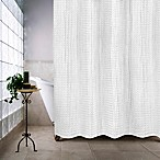 Haven™ Escondido 54-Inch x 78-Inch Stall Shower Curtain in White