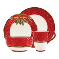 Fitz and Floyd® Damask Holiday 4-Piece Place Setting