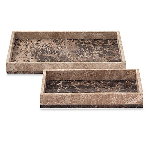 Montecito Marble Tray Bed Bath Amp Beyond