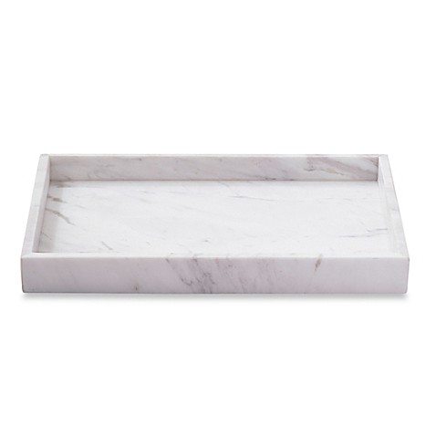 Camarillo marble vanity tray bed bath beyond for Bathroom tray