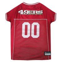 NFL San Francisco 49ers Large Pet Jersey