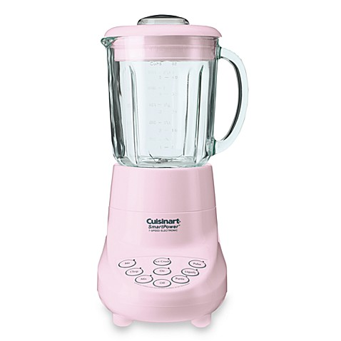 Cuisinart 174 Smartpower 7 Speed Electronic Blender In Pink