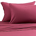 Pure Beech® Jersey Knit Modal Queen Sheet Set in Burgundy