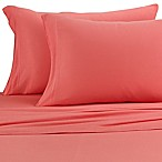Pure Beech® Jersey Knit Modal Standard Pillowcases in Coral (Set of 2)