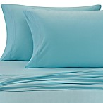 Pure Beech® Jersey Knit Modal Standard Pillowcases in Aqua (Set of 2)