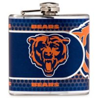 NFL Chicago Bears Stainless Steel Metallic Hip Flask