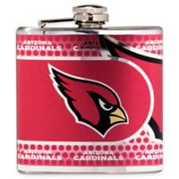 NFL Arizona Cardinals Stainless Steel Metallic Hip Flask