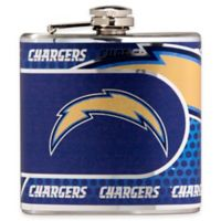NFL San Diego Chargers Stainless Steel Metallic Hip Flask