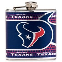 NFL Houston Texans Stainless Steel Metallic Hip Flask