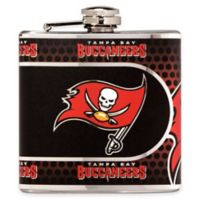 NFL Tampa Bay Buccaneers Stainless Steel Metallic Hip Flask