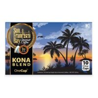 10-Count OneCup™ San Francisco Bay® Kona Blend Coffee for Single Serve Coffee Makers