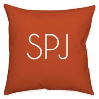 Square 14-Inch Poplin Dual Sided Printable Throw Pillow