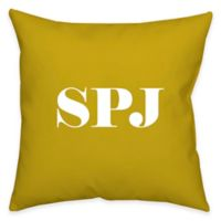 Square 18-Inch Faux Down Dual Sided Printable Throw Pillow