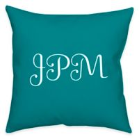 Square 14-Inch Faux Linen Lite Dual Sided Printable Throw Pillow
