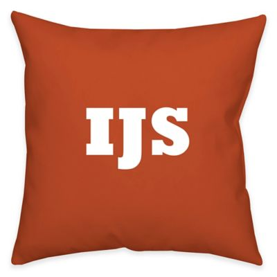 buy monogrammed bed pillows from bed bath beyond