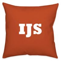 Square 14-Inch Faux Linen Dark Dual Sided Printable Throw Pillow