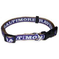 NFL Baltimore Ravens Medium Pet Collar