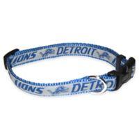 NFL Detroit Lions Medium Pet Collar