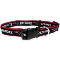 NFL New England Patriots Large Pet Collar