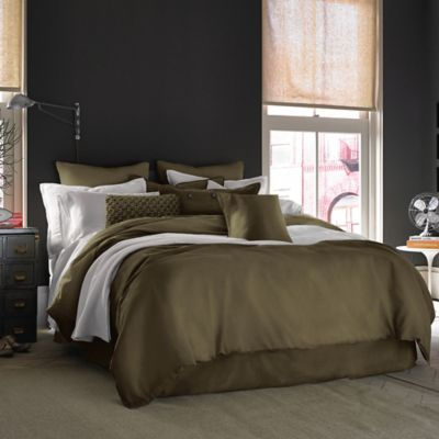 kenneth cole reaction home mineral king comforter in olive