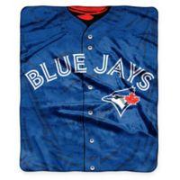 MLB Toronto Blue Jays Super-Plush Raschel Throw Blanket