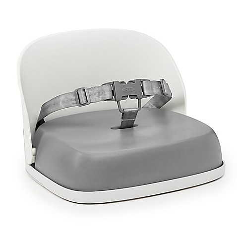 Oxo Tot 174 Perch Booster Seat With Straps In Grey Buybuy Baby
