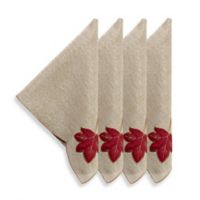 Sam Hedaya Fall Foliage Napkins (Set of 4)