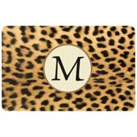 Weather Guard™ 36-Inch x 23-Inch Leopard Kitchen Mat