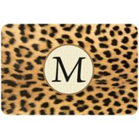 Weather Guard™ 27-Inch x 18-Inch Leopard Kitchen Mat