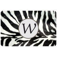 The Softer Side by Weather Guard™ 27-Inch x 18-Inch Zebra Door Mat