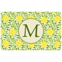 Weather Guard™ 27-Inch x 18-Inch Lemon Watercolor Kitchen Mat