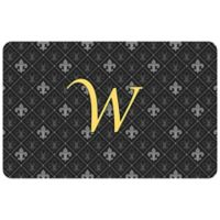 Weather Guard™ 27-Inch x 18-Inch Harlequin Fleur Kitchen Mat