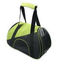 Airline Approved Zip-N-Go Contoured Pet Carrier in Green