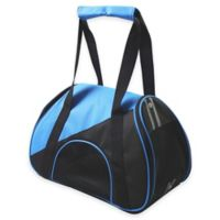 Airline Approved Zip-N-Go Contoured Pet Carrier in Blue