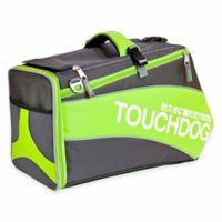 Touchdog® Modern-Glide Airline-Approved Water-Resistant Dog Carrier in Lime Green