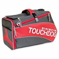 Touchdog® Modern-Glide Airline-Approved Water-Resistant Dog Carrier in Red