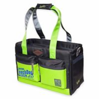 Touchdog Active-Purse Water-Resistant Dog Carrier in Yellow/Green
