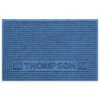 Weather Guard™ 18-Inch x 28-Inch Squares Pet Mat in Medium Blue